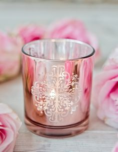 Raindrops and Roses Raindrops And Roses, Rose Cottage, Peach Colors, Beautiful World, Candle Holders, Candles, Peach Rose, Rose Gold, Kawaii