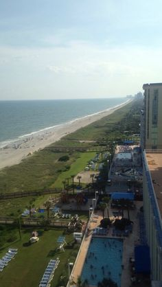 Hotel view from myrtle beach
