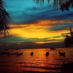 El tiempos pasa, los recuerdos se desvanecen, pero el corazón no olvida los buenos momentos  #Thailand #BuenasNoches