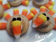 Easy Turkey Cookies.