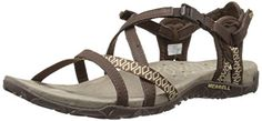 Merrell Womens Terran Lattice II Sandal Dark Earth 9 M US ** You can find more details by visiting the image link.