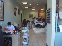 Very clean & busy nail salon in Laguna woods,California  #clean, #reasonable, #beautiful,