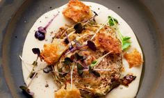 An unusually delicious way to have cabbage, topped off with savoury parmesan cheese. By Nigel Slater