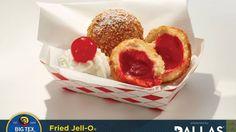 Deep fried state fair jello