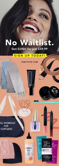 "Get $20 off your annual FabFitFun Subscription Box - Click ""Visit"" to get the discount!   Just want a monthly subscription? Use code ""FUN"" to get $10 off a month-to-month FabFitFun subscription!   Boxes are packed with $200+ in full-size beauty, wellness & lifestyle products from FabFitFun  ❤️"