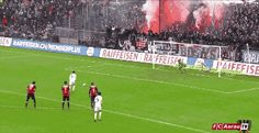 Amazing triple save in the Swiss league! #Soccer #Football #GIF #Sports