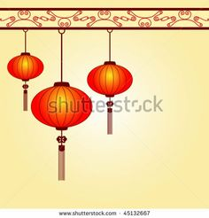 Chinese Lantern Template | ... -traditional-chinese-lanterns-for-the-lantern-festival-45132667.jpg