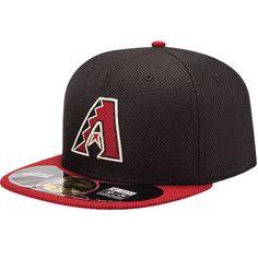 4d661036e Arizona Diamondbacks New Era On Field Diamond Era 59FIFTY Fitted Hat -  Black Red -