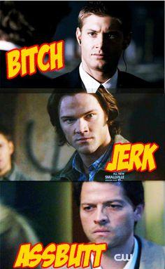 HAHA oh Castiel..