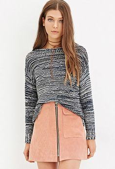 Marled Knit Sweater | Forever 21 - 2000181896