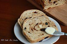Cinnamon-Raisin Swirl Bread - Will Cook For Smiles