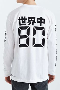 8dc07e6cafe89 Stussy Japan International Long-Sleeve Tee - Urban Outfitters