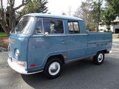 1968 Double Cab 3 Door Crew cab Bay Window Type2 Bus Pickup Truck Van WorldWide, image 1