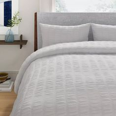 Foundstone Moby Comforter Set & Reviews | Wayfair Duvet Cover Sizes, Duvet Covers, Bed & Bath, Comforter Sets, Your Space, Comforters, New Homes, King, Bedroom