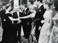 HER ROYAL AUDIENCE photo | Marilyn Monroe, Queen Elizabeth II