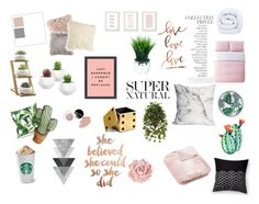 """""""Bed and bedding"""" by rodaisabella on Polyvore featuring interior, interiors, interior design, Casa, home decor, interior decorating, Silken Favours, By Terry, L'Objet e Lala + Bash"""