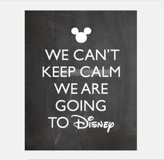 We Can't keep calm we are going to disney by atasteofeverything, $5.00