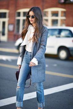 The Jeans All the Girls Are Wearing at NYFW | WhoWhatWear