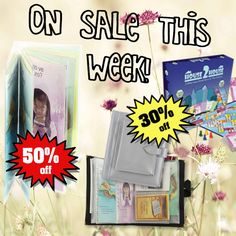 """30% to 50% off. Visit the """"sale"""" section of http://ministryideaz.com"""