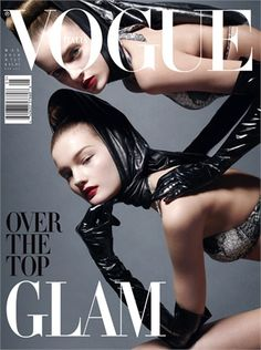Over the Top Glam by Steven Meisel, May 2010