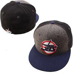 Winnipeg Jets Meltdown Wool Fitted Hat