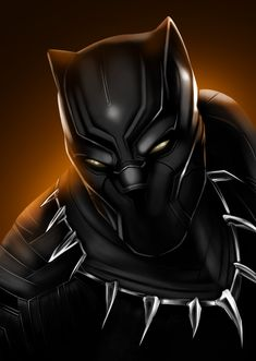 "herochan: "" Black Panther Created by Gilles Brauneisen """