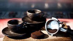 Disse kaffekoppene er laget av kaffe
