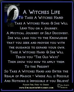 Or not *shrugs and goes back to her witchy homestead*
