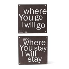 Love these signs!  I can see them in our bedroom!