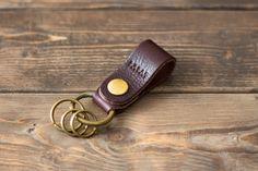 革のベルトキーホルダー | 革小物のDURAM FACTORY
