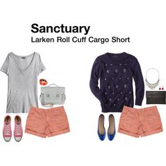 A fashion look from February 2014 featuring party tops, v neck tee and canvas sneakers. Browse and shop related looks.