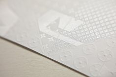 Detail of Louis Vuitton origami invitation by Happycentro