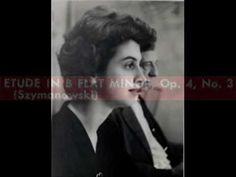 Szymanowski / Ann Schein, 1959: Etude in B flat minor, Op. 4, No. 3