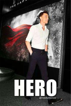 Tom Hiddleston ~ Hero