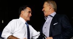 145 Headline: John Elway endorses Mitt Romney. No caption. 10/2/12