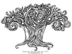 swirly drawing
