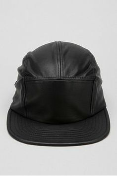 Rosin Faux-Leather 5-Panel Hat Information