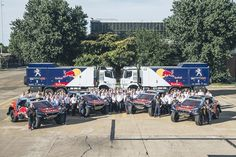 Rally Dakar 2016: Team Peugeot Total segue agrupada