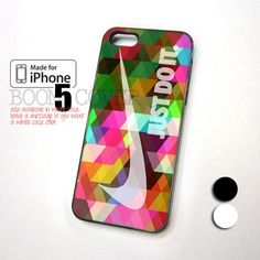 Colorfull Nike Geometric Pattern design for iPhone 5 Case