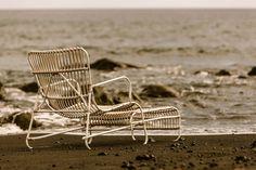 Chaise longue Lucie, Rouge Céladon Plein Air