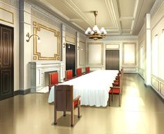 anime scenery episode mansion backgrounds dining interactive background table places cenario hidden casa base palace salvo uploaded user animation casas