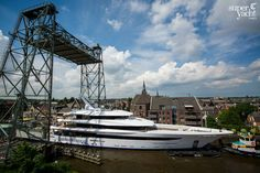 Live from Holland: 70m Joy departs Feadship | SuperYacht Times
