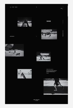 Web-design for Elena Nevskaya / Photographer.