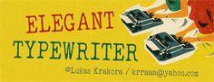 Image for ELEGANT TYPEWRITER font