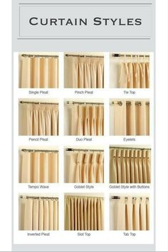 Design Guide:  Curtains 101