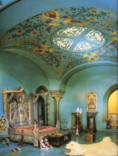 Colleen Moore's Fairy Castle - Prince's Bedroom - Museum of Science and Industry - Chicago, IL