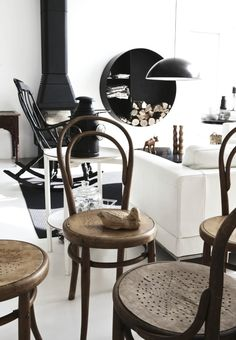 Thonet chairs