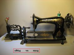 vintage1864 Chas Raymond and 1914 Singer tiffany