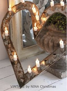 This is a great outdoor or indoor lighting idea!