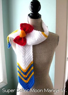 Sailor Moon & Super Sailor Moon Inspired Scarf by ShopOfManyThings